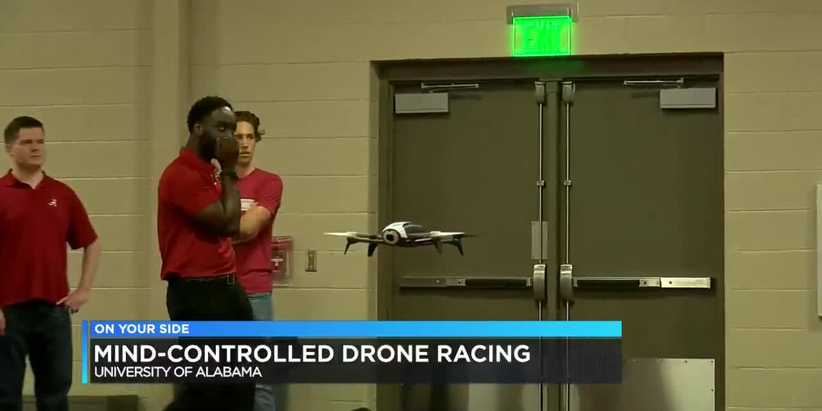 Mind-controlled drone racing at University of Alabama
