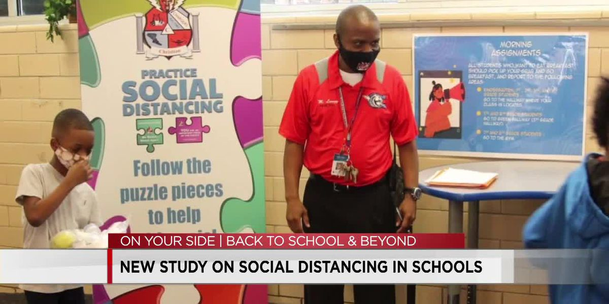 Students can distance less in schools if masked, researchers say