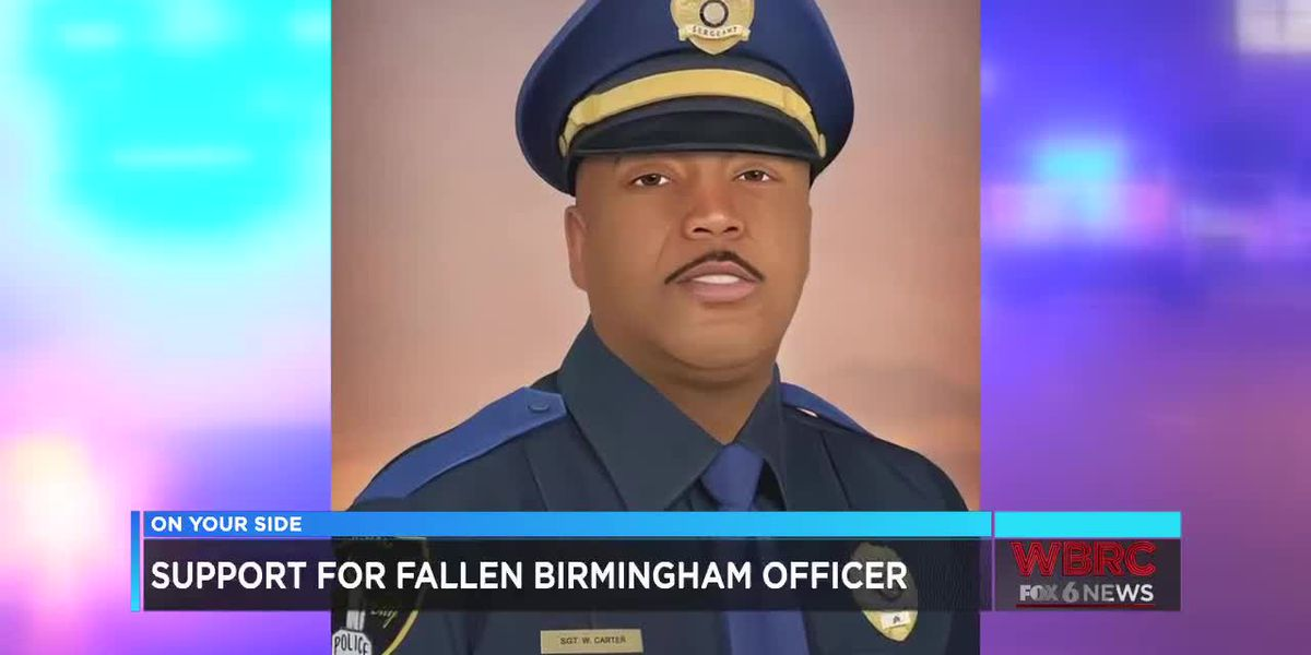 Support for fallen B'ham officer