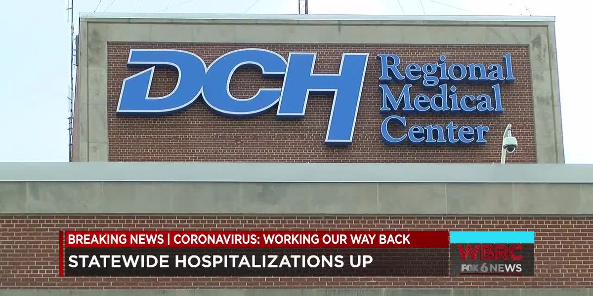 DCH Regional Medical Center still below capacity due to COVID-19 patients