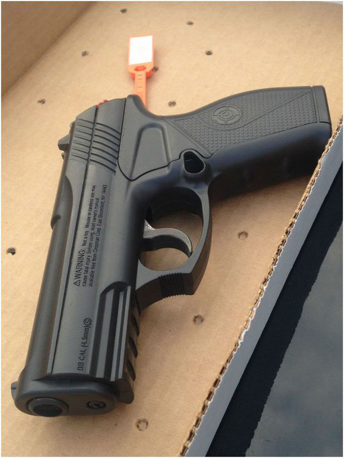 Airsoft gun design may be too realistic for law