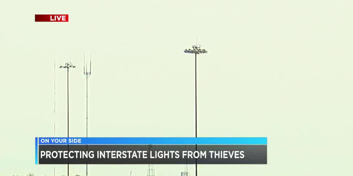 Protecting B'ham interstate lights from thieves