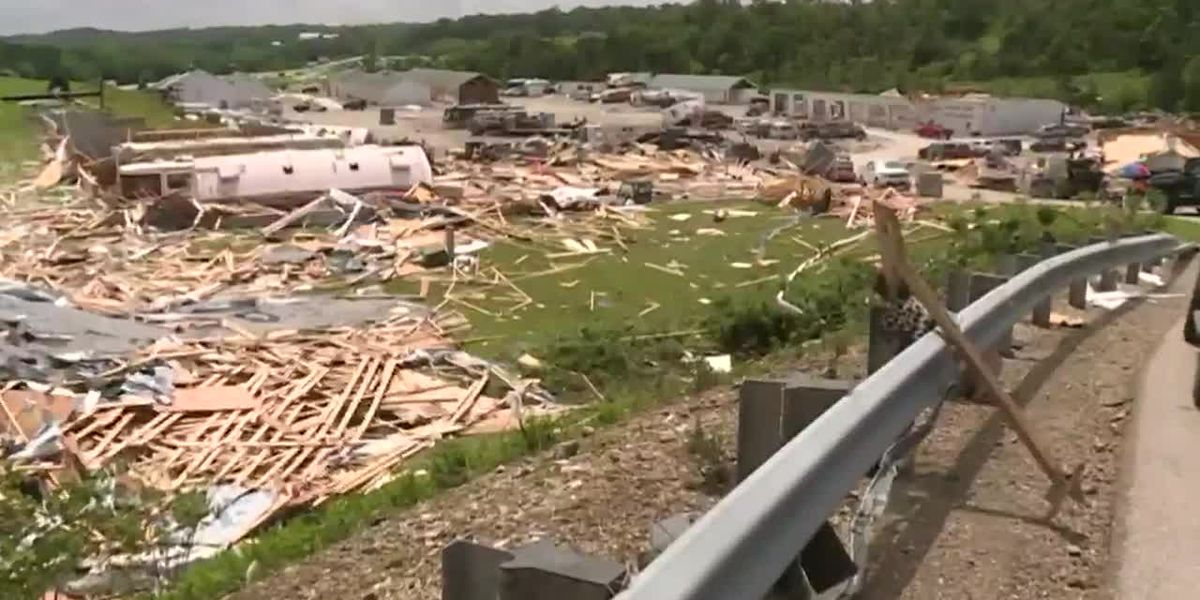 Tornadoes leave trail of destruction across Missouri