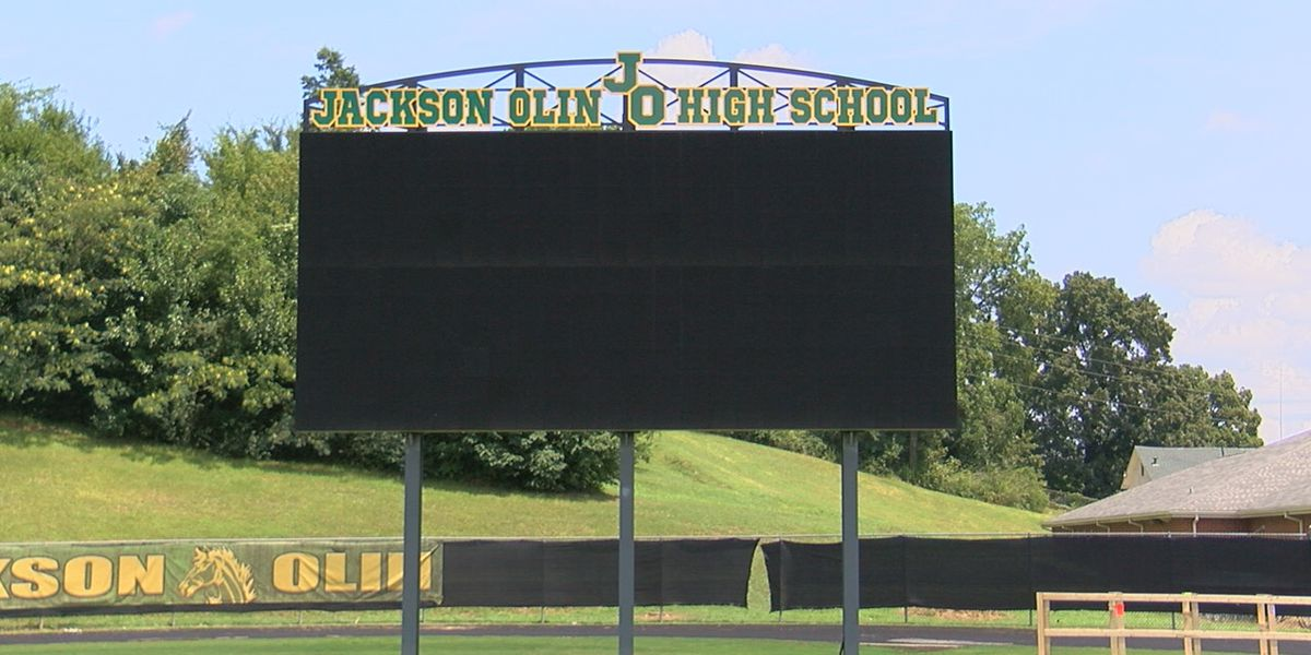 Jackson-Olin gets new videoboard