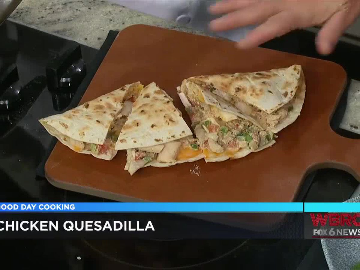 Village Tavern: Chicken Quesadilla