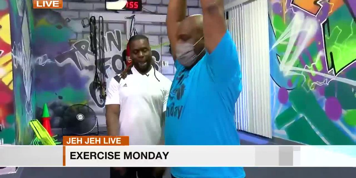 Jeh Jeh Live: Exercise Monday