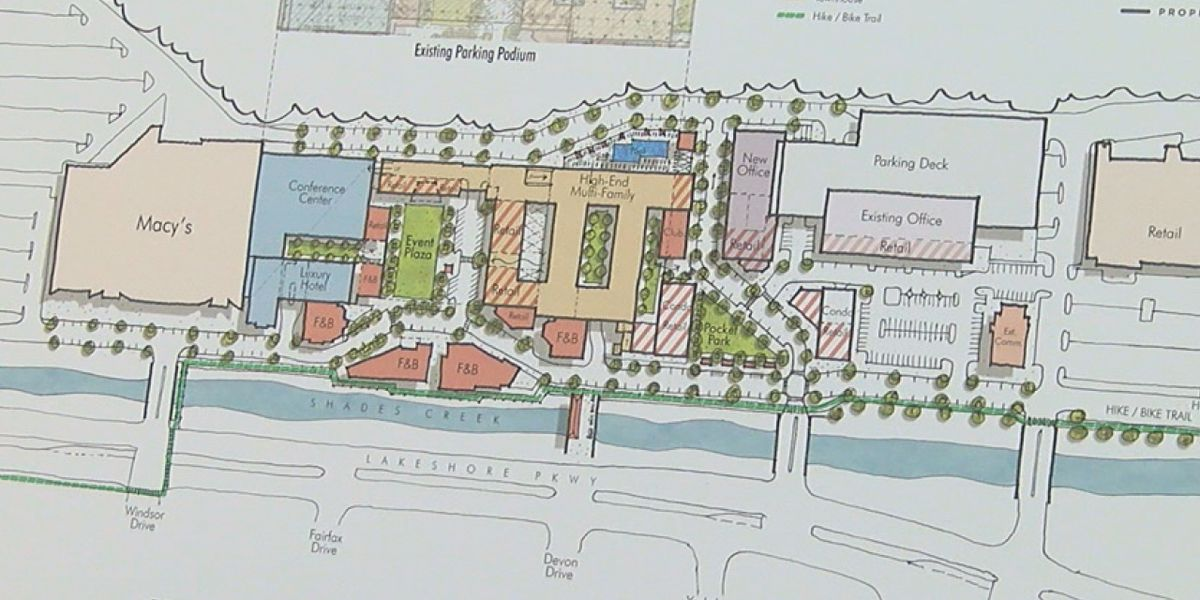 Developers looking to transform Brookwood Village into mixed-use space
