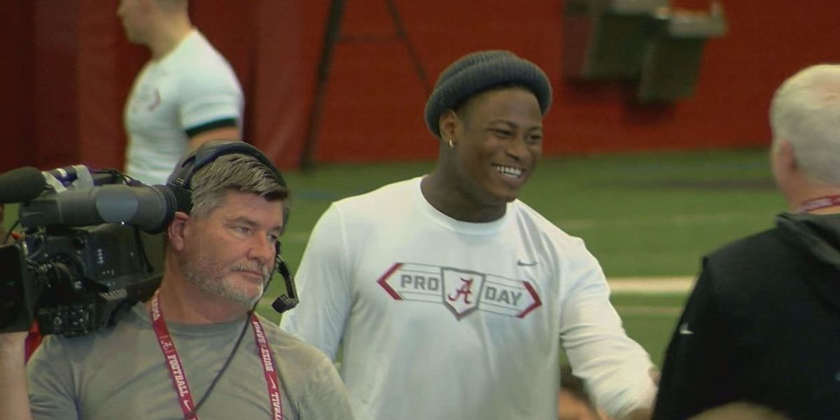 Foster gets Bama support at Pro Day
