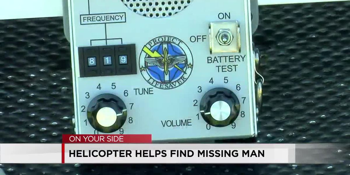 Pilot who helped find Jefferson County man who wandered from home promotes Project Lifesaver