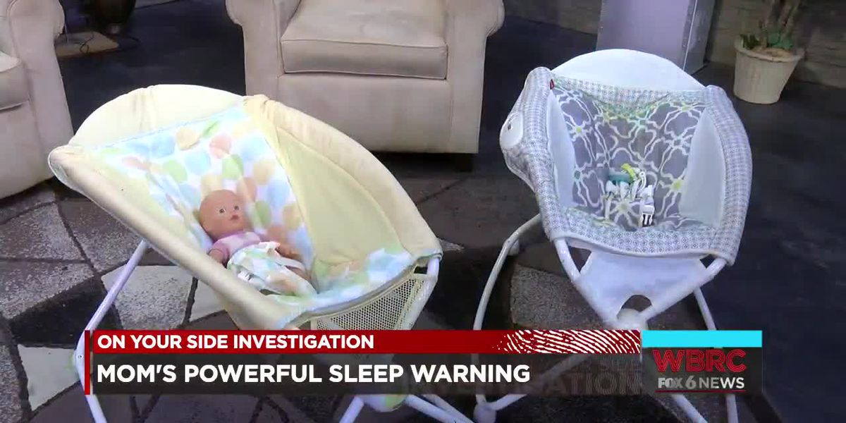 Mother's powerful warning about baby sleep products