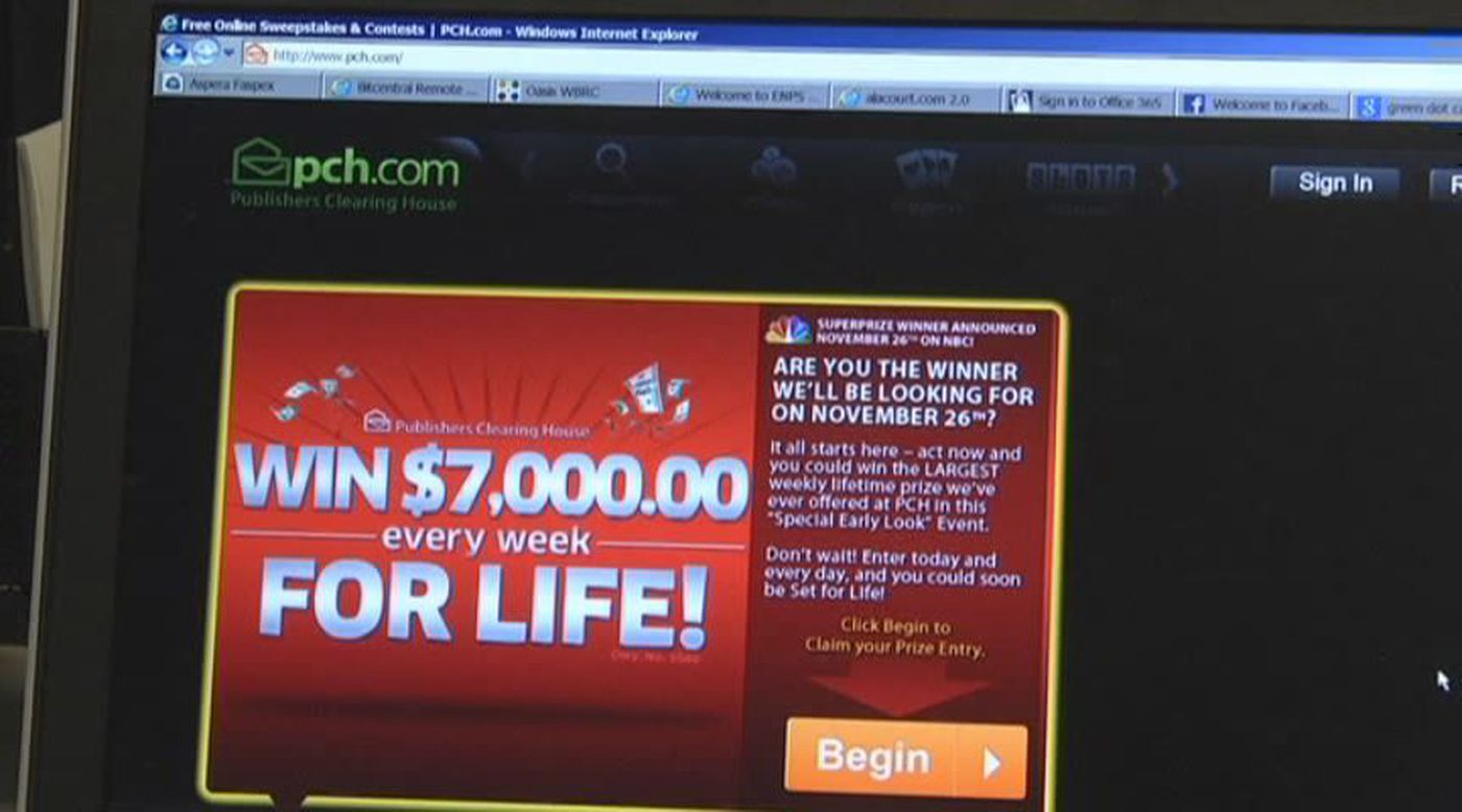Scammers pose as Publishers Clearing House representatives