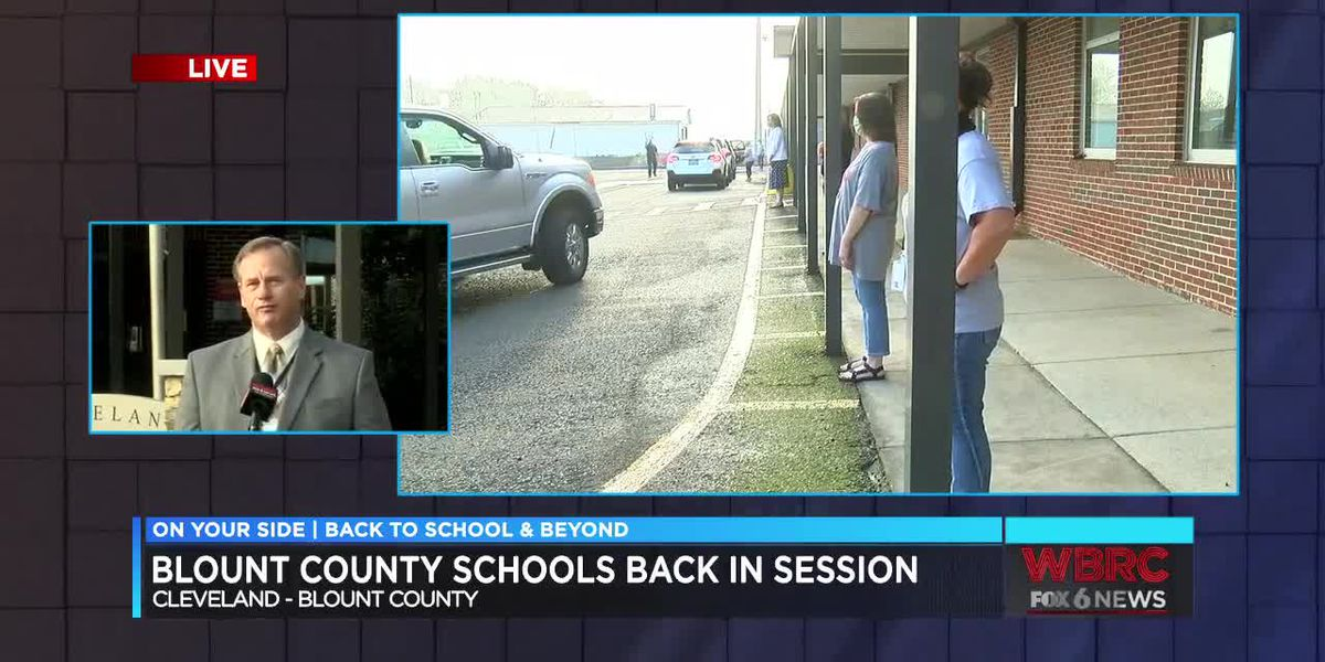 Blount County Schools are back in session