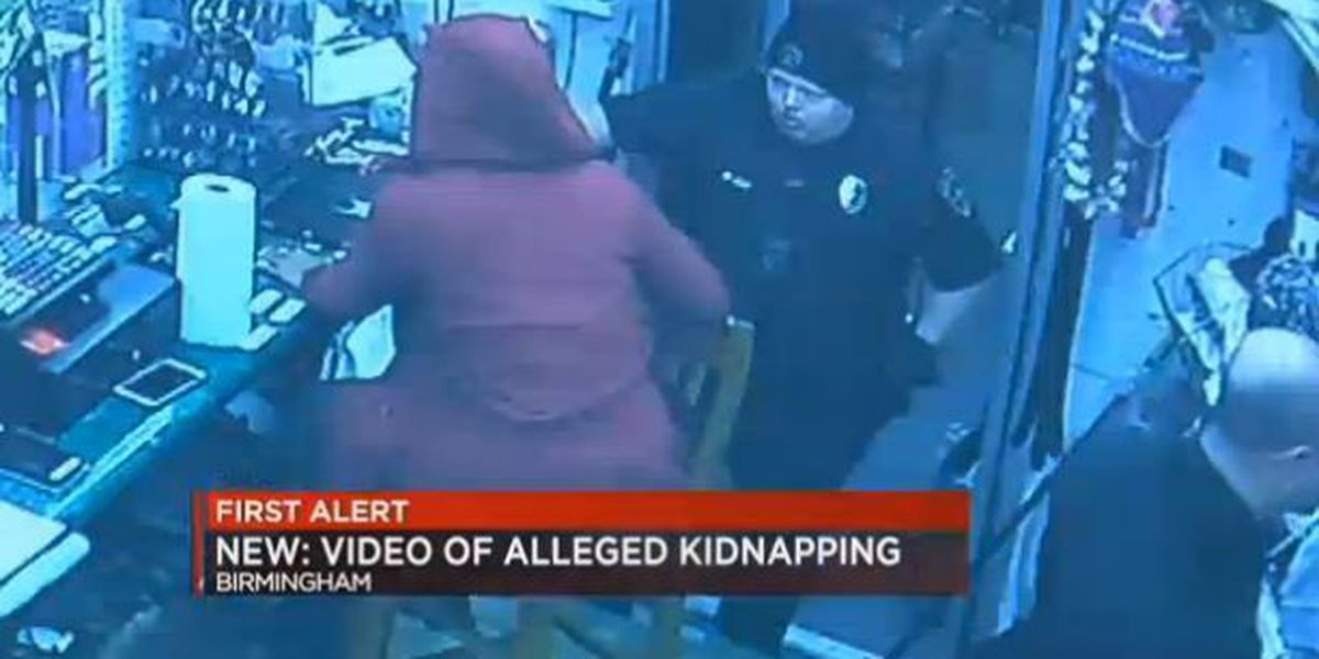 Surveillance video shows woman jump out of trunk after kidnapping