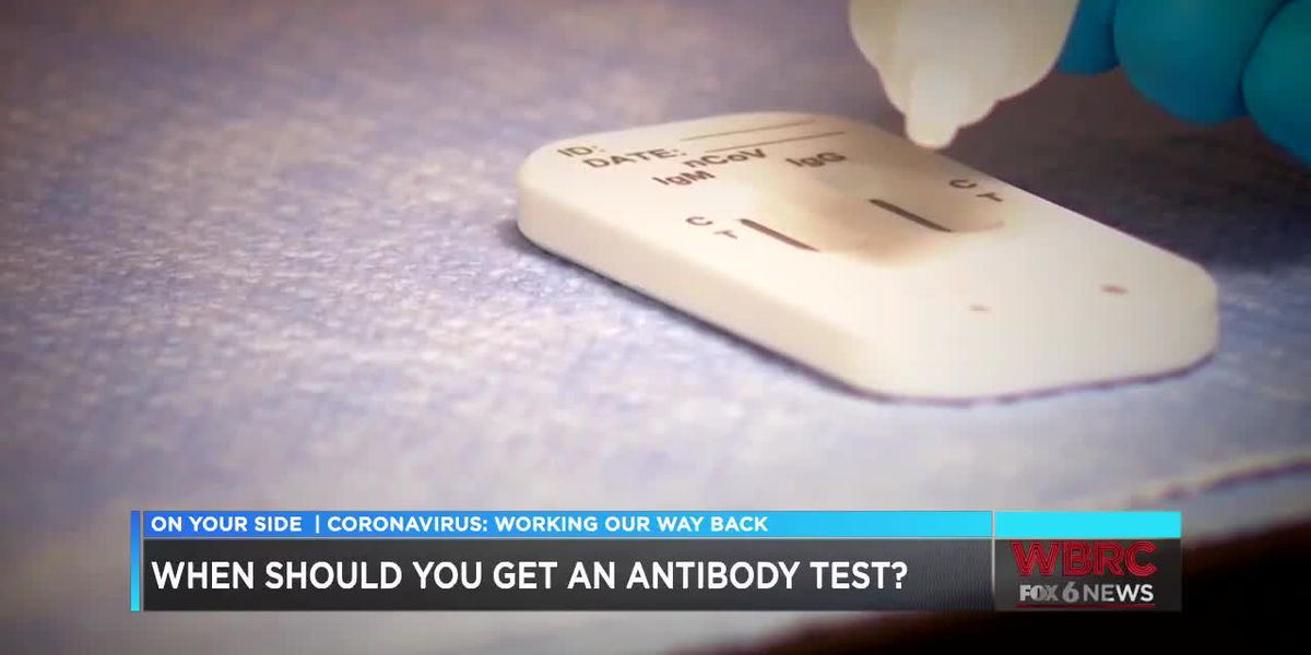 When should you get an antibody test?