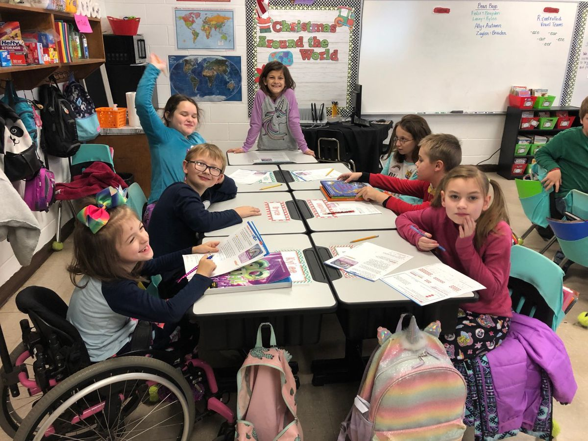 Etowah County students wear pajamas to school for Giving Tuesday