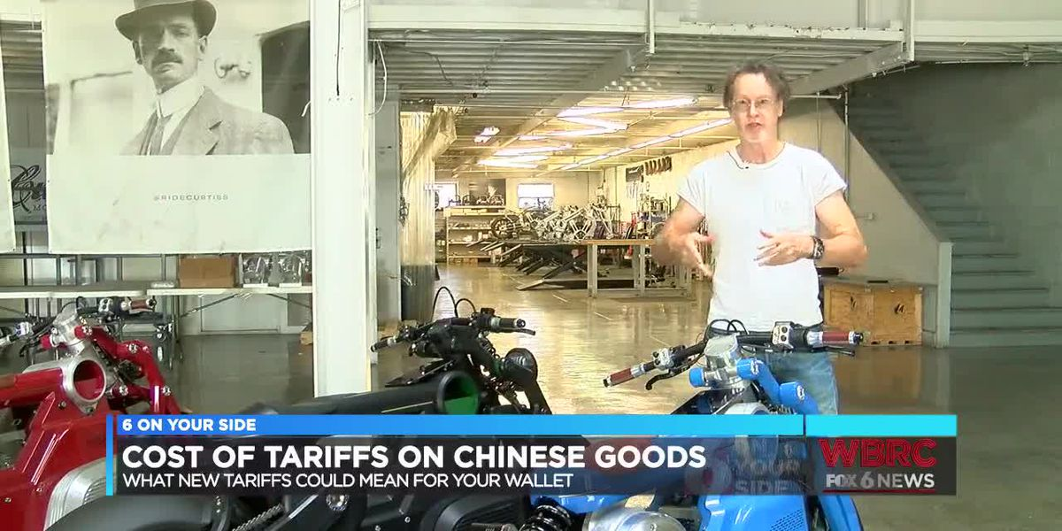 Cost of tariffs on Chinese goods