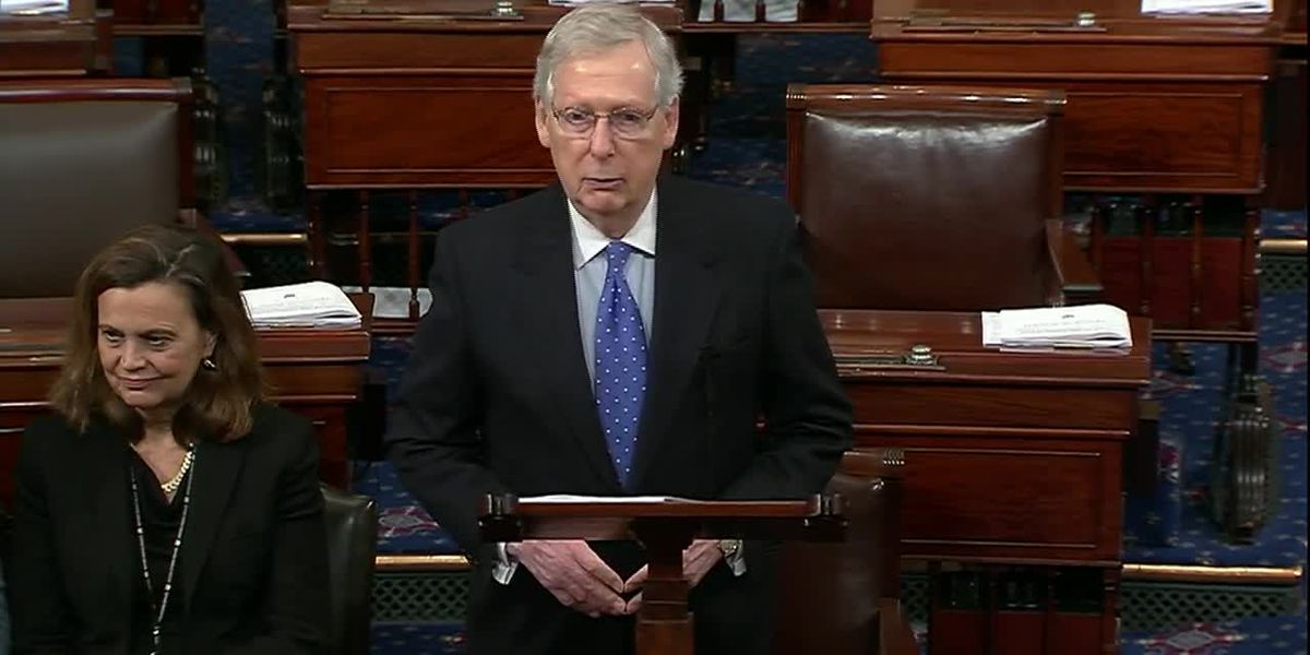McConnell introduces stopgap measure to fund gov't