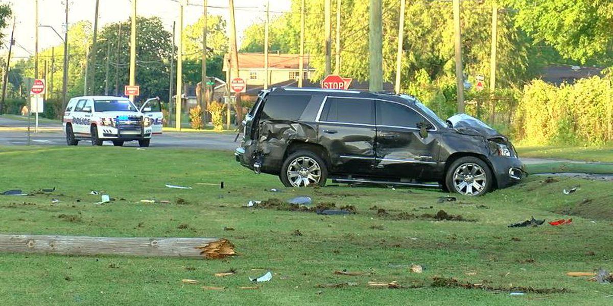 Bessemer police officer involved in 2-vehicle crash Friday