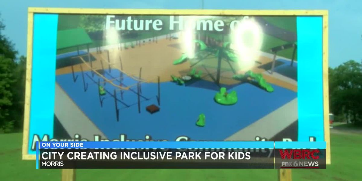 City of Morris creating an inclusive park for kids