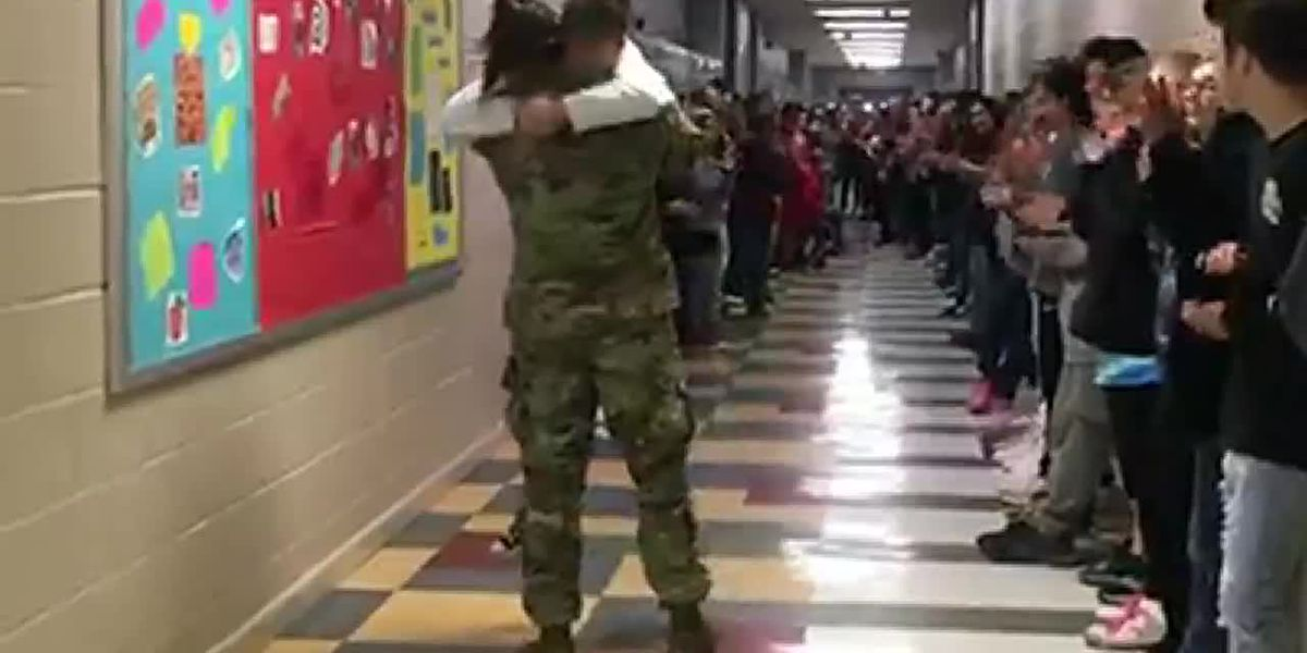 Home For Christmas: Bragg Middle School student gets big surprise