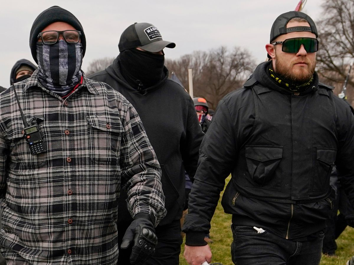 Leaders of Proud Boys ordered jailed on Capitol riot charges