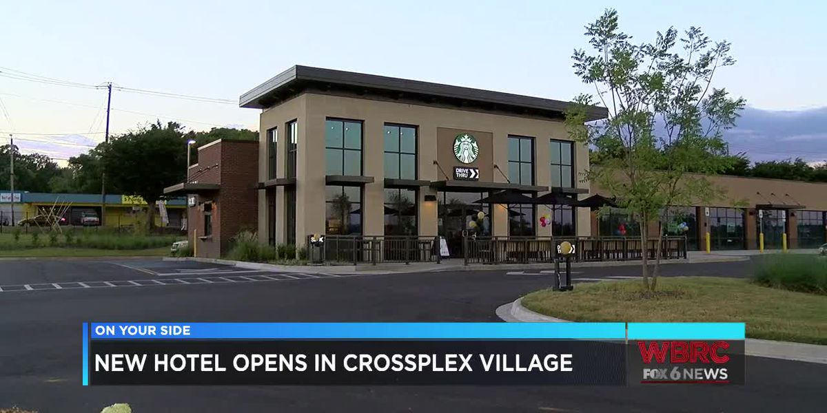 New hotel opens in Crossplex Village