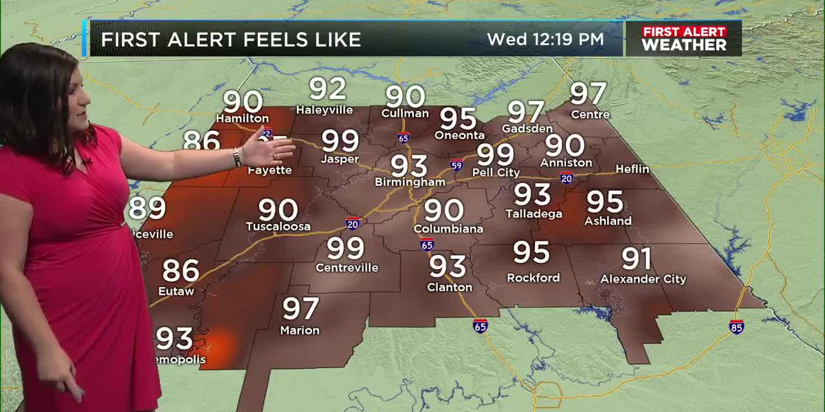 First Alert Weather: Noon update 8-21-19