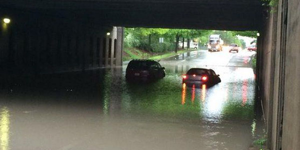 City of Birmingham to close 2 viaducts due to flooding potential