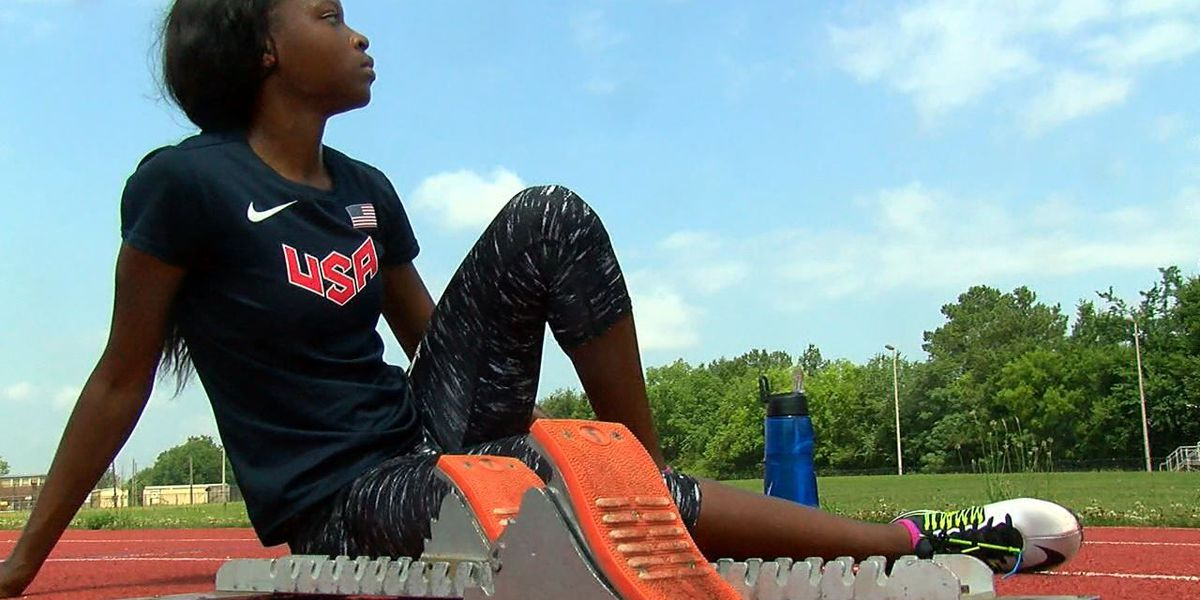 Woodlawn's Jayla Kirkland to defend titles at New Balance Outdoor Track Nationals