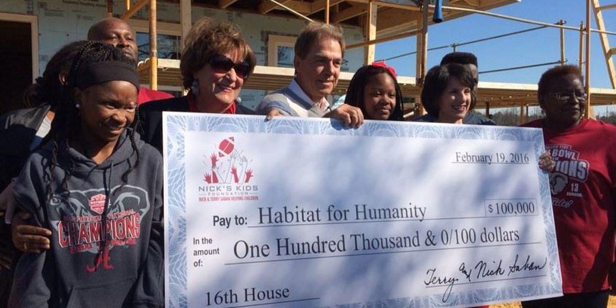Remembering Harper Lee, and Saban's 'Sweet 16' Habitat House