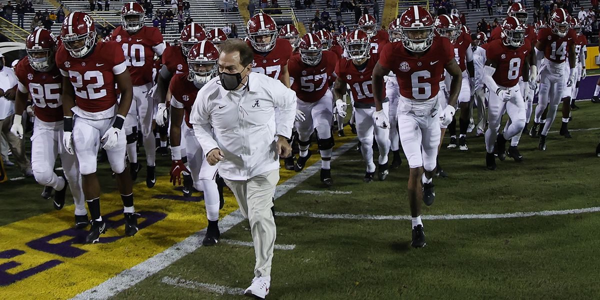 Nick Saban: 'There were discussions' on postponing CFP National Championship
