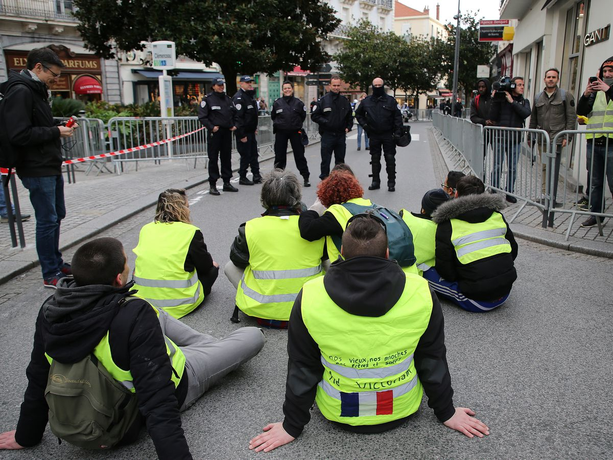 French protesters' motives are in eyes of many beholders
