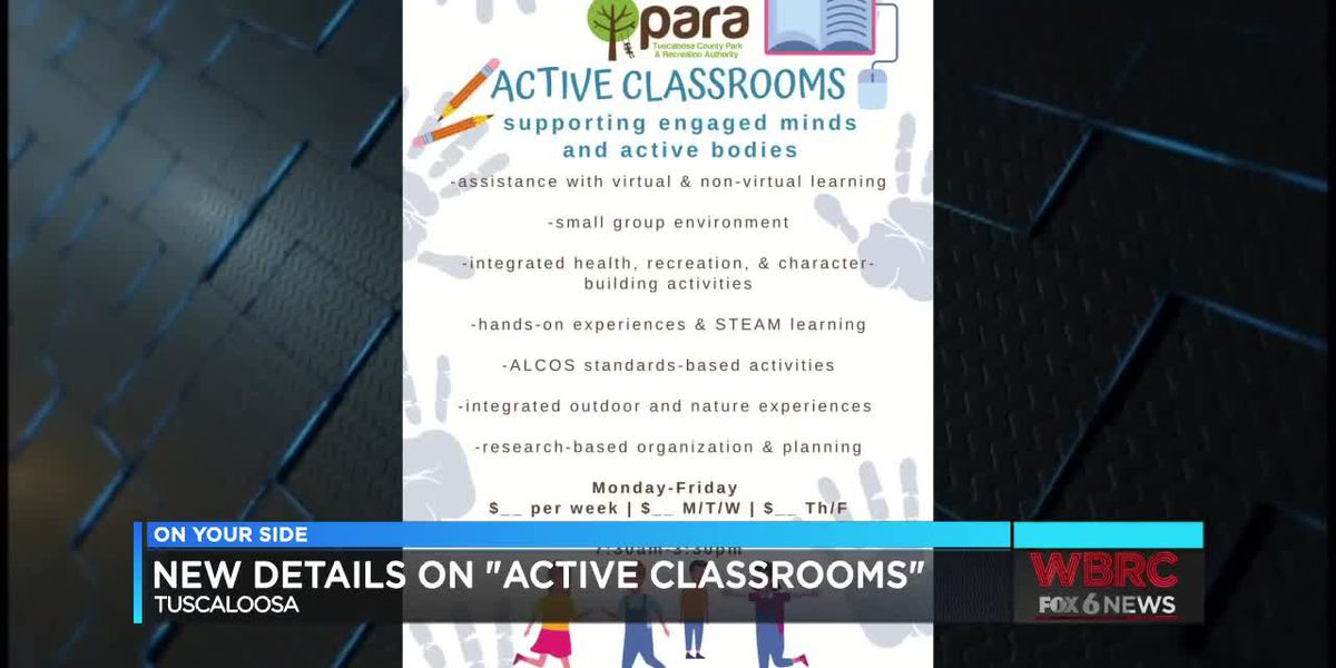 "New details on ""active classrooms"" in Tuscaloosa"