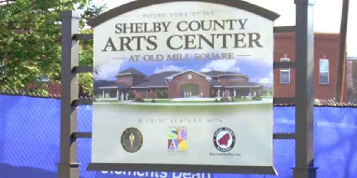 Shelby County Arts Center moving along in construction