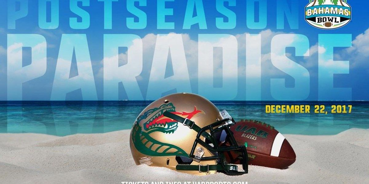 UAB to play Ohio in Bahamas Bowl