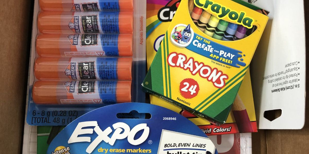Every K-5th grade student in the Cullman County Schools system will receive free school supplies