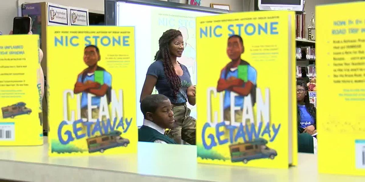Author tries to be a voice for kids in middle school