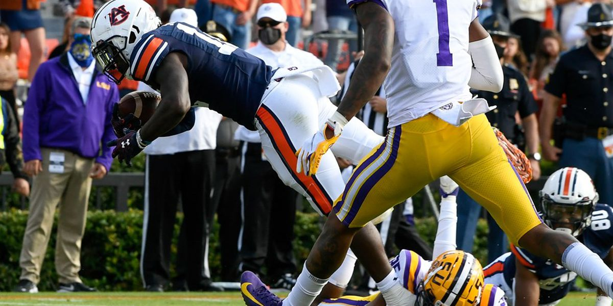 Auburn pounds its way to win against LSU