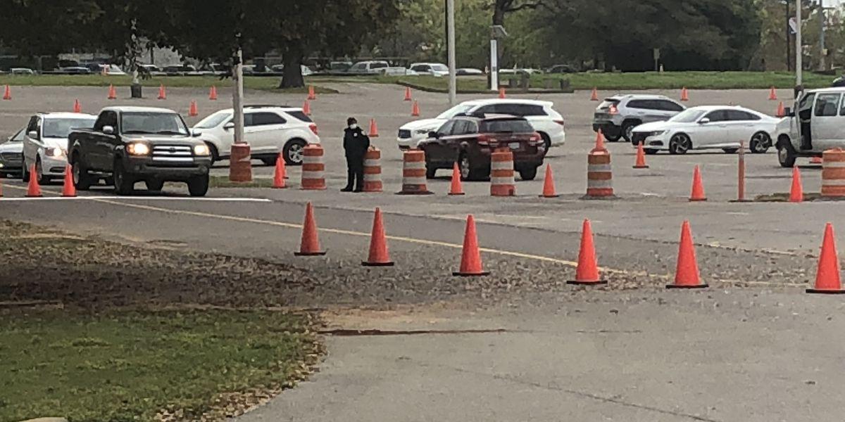 DCH drive-through coronavirus testing in Tuscaloosa to resume Monday