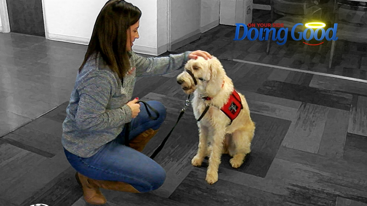 """Ashley Taylor """"Doing Good"""" with Service Dogs of Alabama"""
