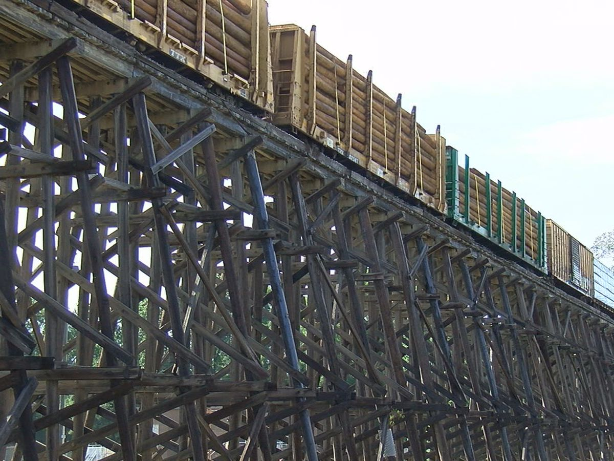 Safety improvements coming to Tuscaloosa train trestle
