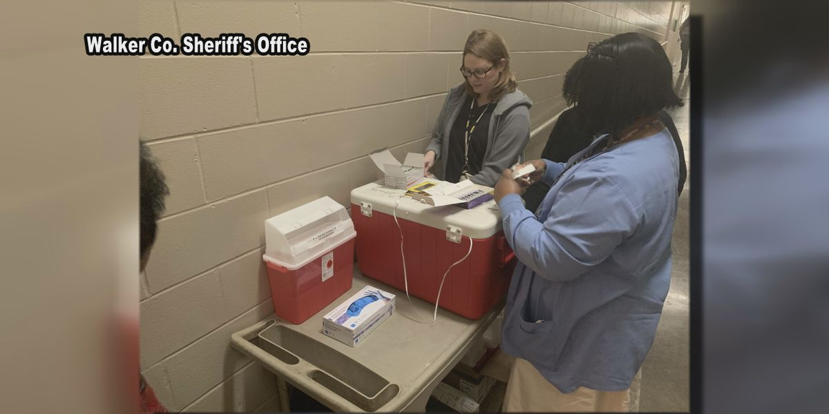Walker Co. inmates offered free Hepatitis A vaccines