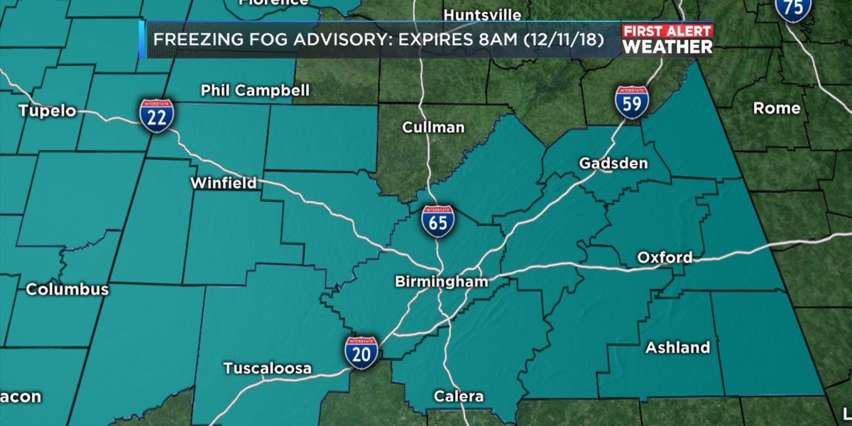 Matt says freezing fog and black ice a major concern this Tuesday morning