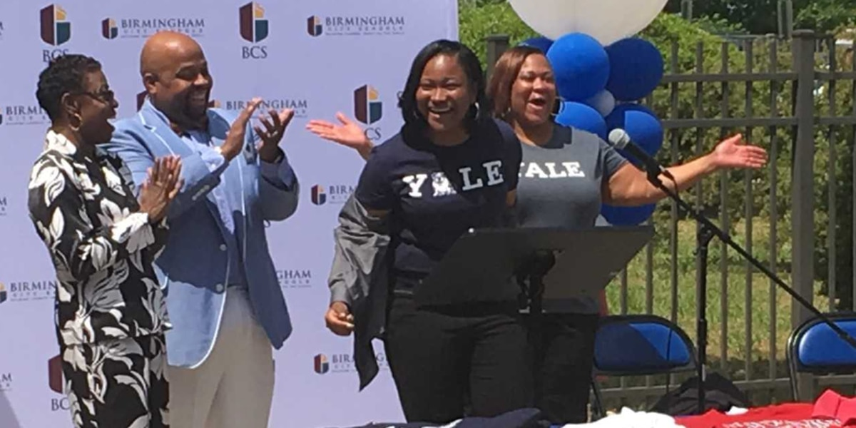 Mission Accomplished: Ramsay High School senior accepts full ride to Yale University