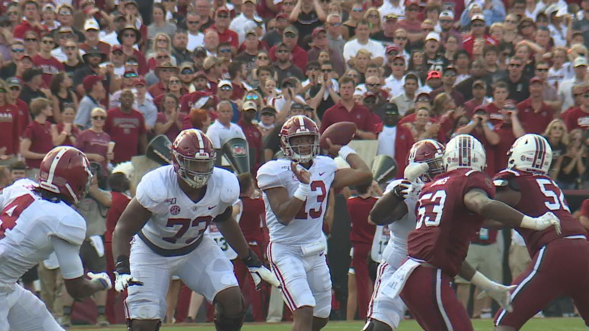 Tides offense soars after record-setting day by QB Tua Tagovailoa