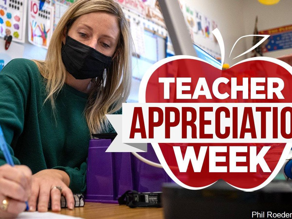 Teachers honored during Teacher Appreciation week, reflect on pandemic school year