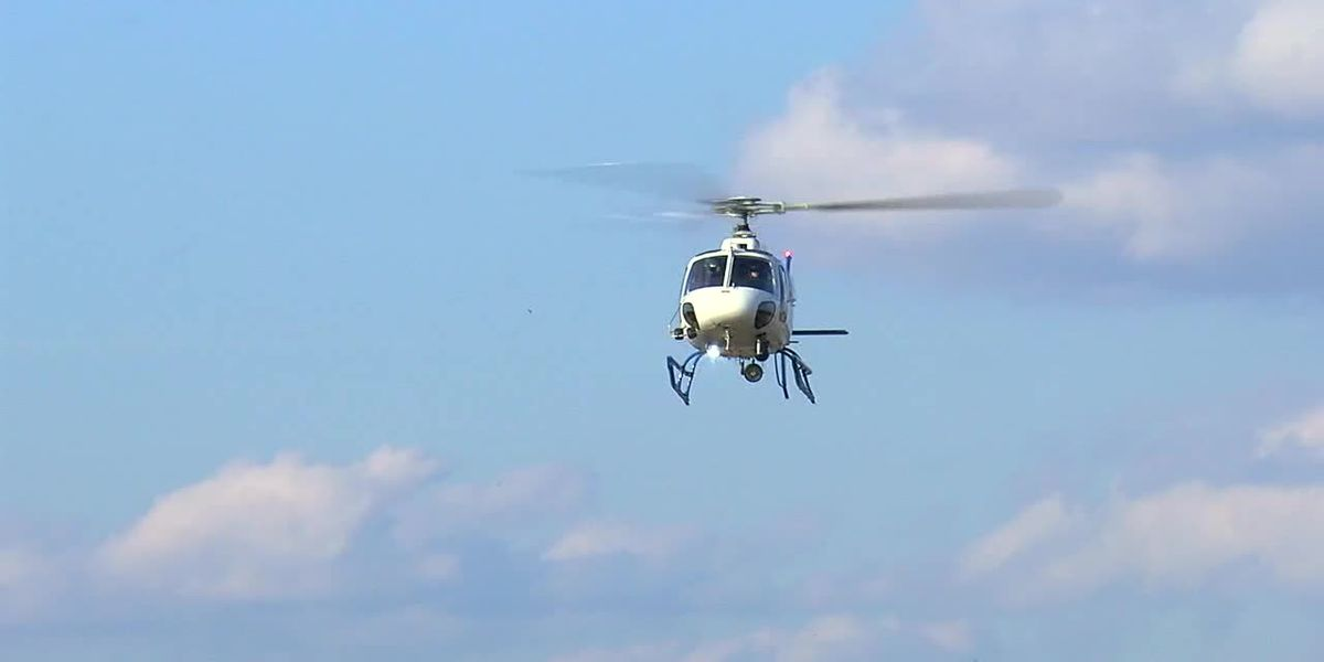 Firsthand look at new camera technology helping Metro Area Crime Center Helicopter