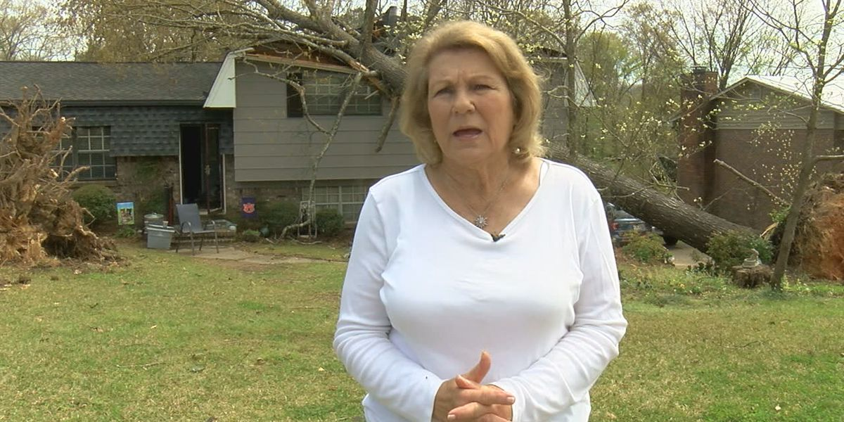 Pelham woman says having a plan and prayer saved them during tornado