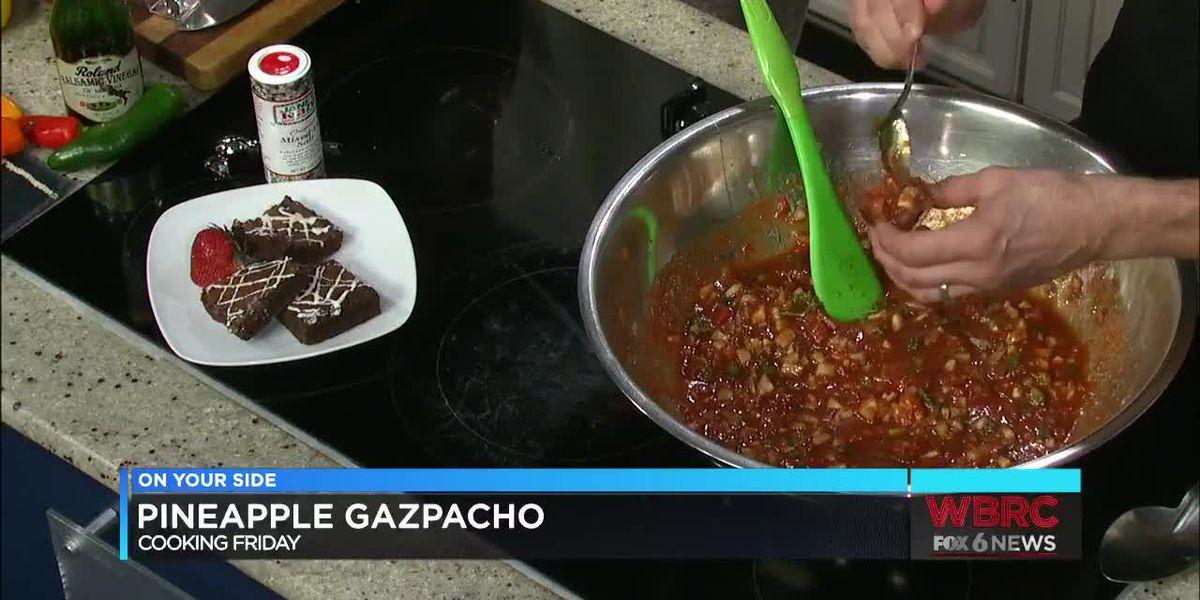 AATC: Pineapple Gazpacho
