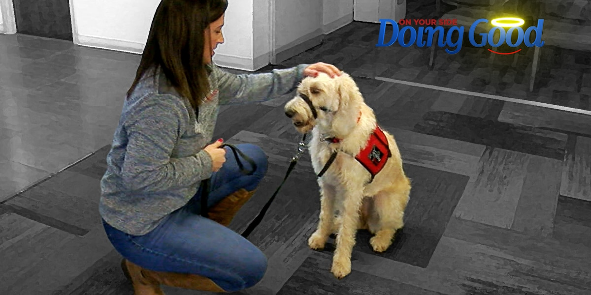 "Ashley Taylor ""Doing Good"" with Service Dogs of Alabama"